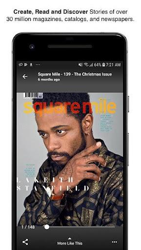 Issuu - u201cCreate & Discover Storiesu201d apktram screenshots 1