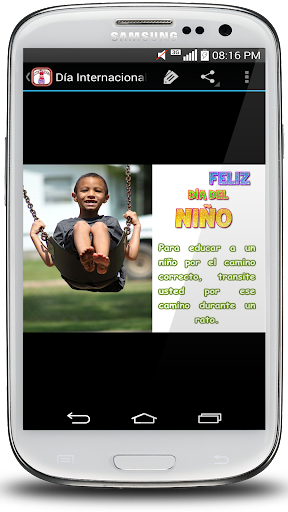 Frases para Feliz du00eda del Niu00f1o screenshots 3
