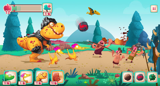 Dino Bash - Dinosaurs v Cavemen Tower Defense Wars 1.3.10 Screenshots 18