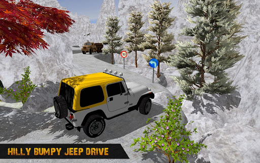 Offroad Jeep Driving Simulator : Real Jeep Games Apkfinish screenshots 13