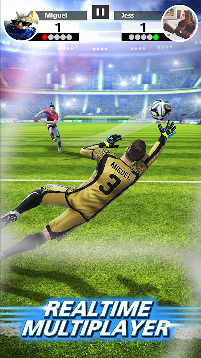 Football Strike - Multiplayer Soccer Android App Screenshot
