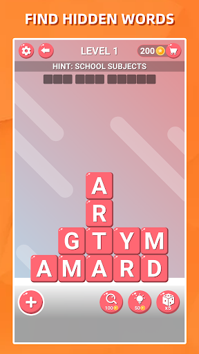 Block Words Search - Classic Puzzle Game 1.8 Screenshots 1