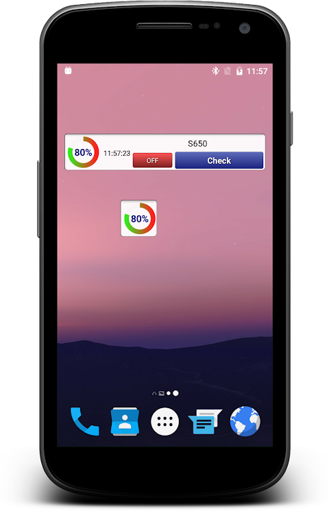 Bluetooth check ringtone & show battery levelのおすすめ画像1