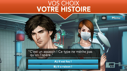 Code Triche Is It Love? Blue Swan Hospital - Choose your story (Astuce) APK MOD screenshots 3