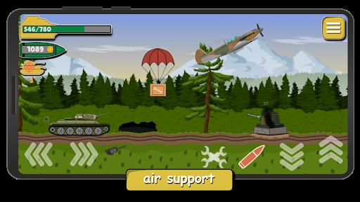 Tank Battle War 2d: game free 1.0.4.3 screenshots 4