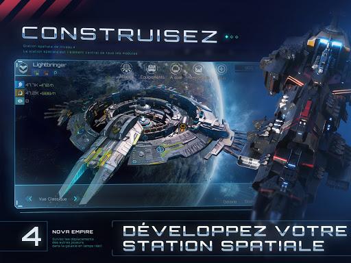 Télécharger Gratuit Nova Empire: Commandant spatial -MMOde stratégie apk mod screenshots 5