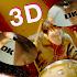 DrumKnee 3D Drums - real drum pad
