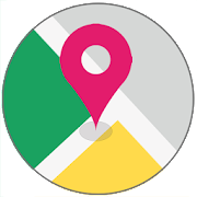 Gps Navigation - Route Finder, Map direction  Icon