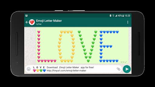 Emoji Letter Maker ud83dude0d 3.0 Screenshots 7