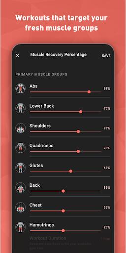 Fitbod Workout & Fitness Plans 2.0.3 Screenshots 8