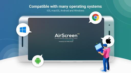 AirScreen - AirPlay & Cast & Miracast & DLNA apktram screenshots 3