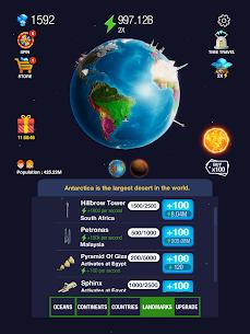 Idle World ! MOD (Unlimited Diamonds) 4