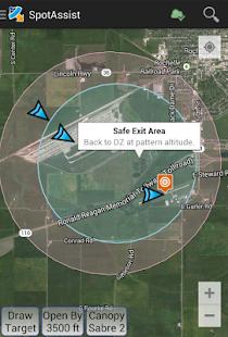 Spot Assist Skydiving Tool