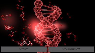Blood Cells Particles 3D Parallax Live Wallpaper screenshot thumbnail