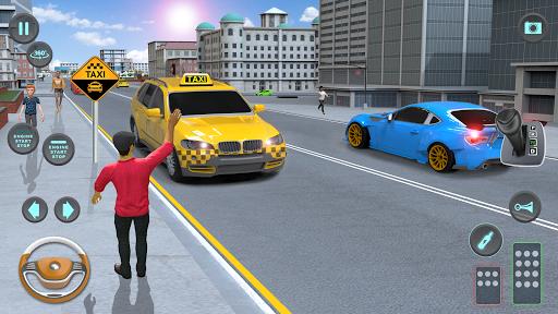 City Taxi Driving simulator: PVP Cab Games 2020 1.53 screenshots 4