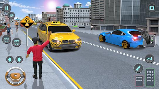 City Taxi Driving simulator: PVP Cab Games 2020 4
