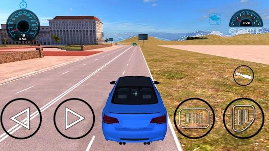 M4 Sürüş Oyunları: şehir araba sürüş simülatörü Apk İndir 5