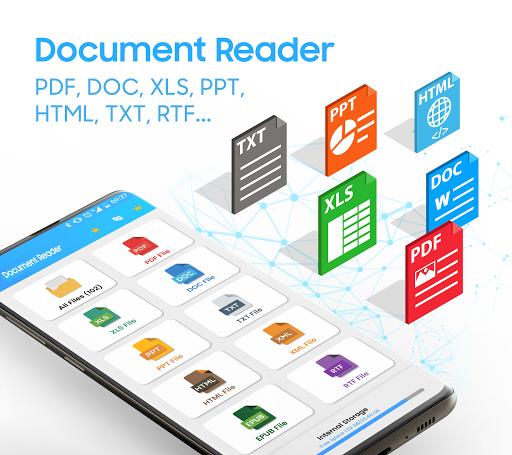 Office Reader: PDF, PPT & PPTX, Word, Docs, Excel  screenshots 1