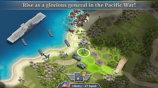 1942 Pacific Front – a WW2 Strategy Mod Apk (Unlimited Gold Coins) 1