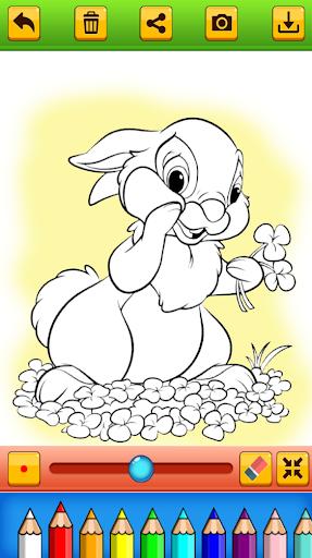 Cute Rabbit Coloring Book screenshots 4