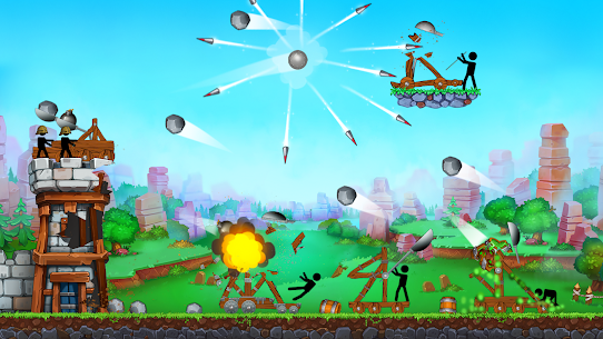 The Catapult — King of Mining Epic Stickman Castle 5