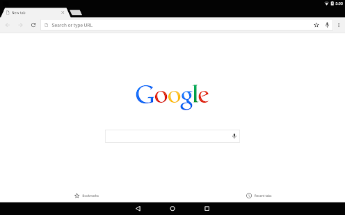 Chrome Canary (inestable) Screenshot
