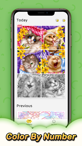 Jigsaw Coloring - Free Color By Number Puzzle Game apkdebit screenshots 5