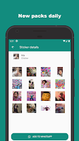 screenshot of Animated Stickers Memes Stickers - WAStickerApps