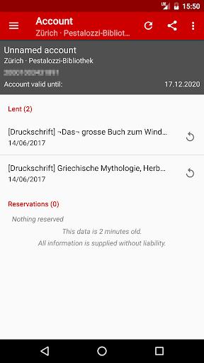 Web Opac: 1,000+ libraries 6.2.8 screenshots 3