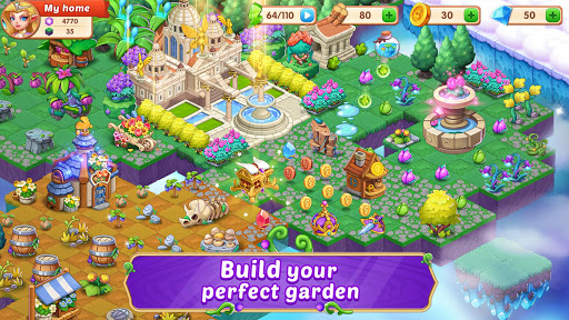 Merge Wonders - Elf Gardens screenshots 3