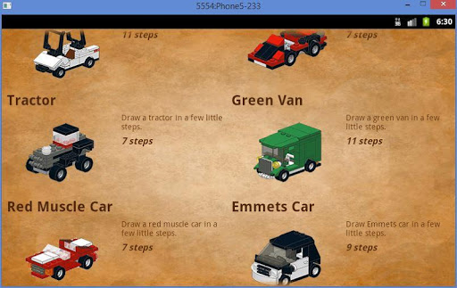 Cars in Bricks screenshots 4