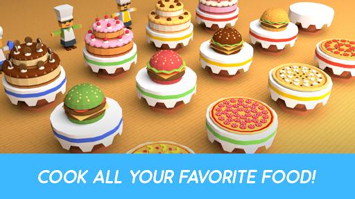 Télécharger Gratuit Idle Food Builder – Cakes Factory Tycoon Game APK MOD (Astuce) screenshots 2
