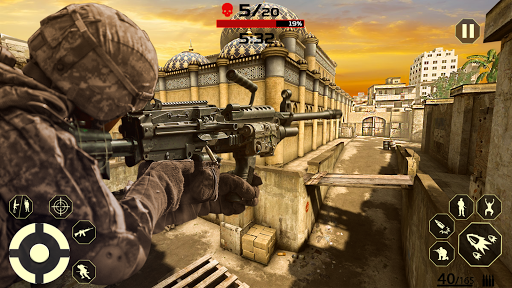 FPS Free Fire Game: New Gun Shooting Games Offline modavailable screenshots 15