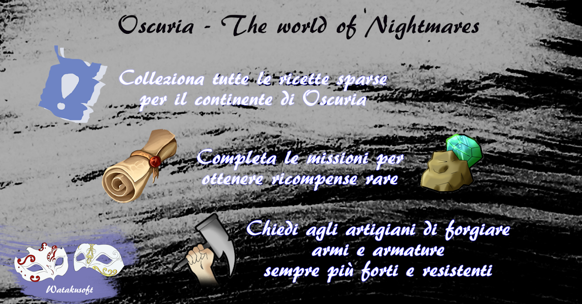 Oscuria – The world of nightmares
