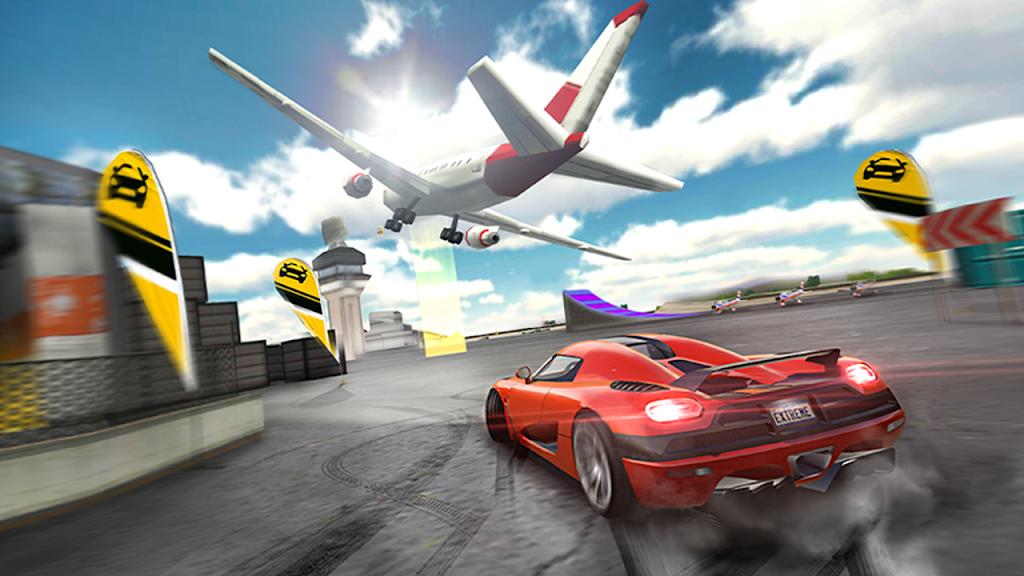 Extreme Car Driving Simulator poster 2