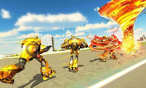 Tornado Robot games-Hurricane Robot Transform Game android2mod screenshots 4