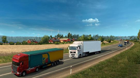 Truck Simulator 2020 : Heavy Cargo Truck Europe 3D 1.0 Mod + APK + Data UPDATED 2