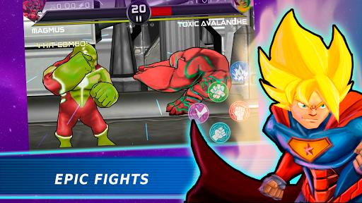 Télécharger Superheroes Vs Villains 3 - Jeu de combat gratuit APK MOD 1