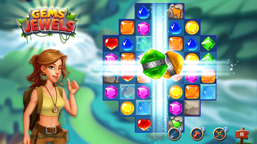 Jewel & Gem Blast - Match 3 Puzzle Game 2.5.1 screenshots 8