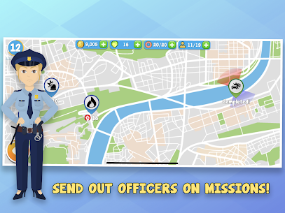 Police Inc Mod Apk: Tycoon police station builder (Unlimited Money) 6