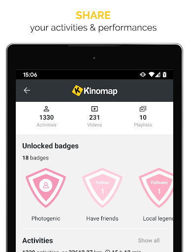 Kinomap - Indoor training videos  Screenshots 11