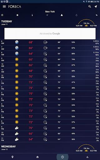 Foreca Weather 4.24.3 Screenshots 15