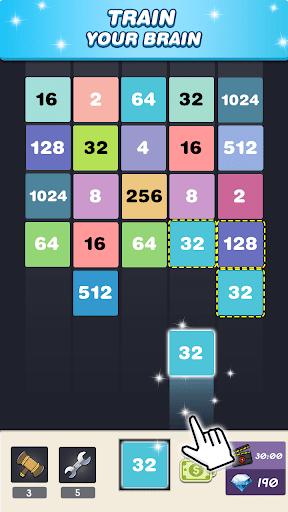 Merge 2048 - Number Puzzle  screenshots 2