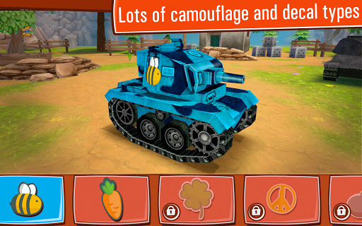 Toon Wars: Awesome PvP Tank Games  screenshots 12