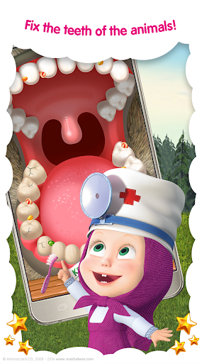 Masha and the Bear: Free Animal Games for Kids screenshots 3