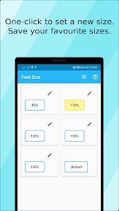 Font Size Mod Apk 1.12.0 (Ad Free/Paid) 4