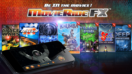 MovieRide FX Screenshot
