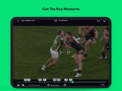 Kayo Sports - for Android TV screenshots 11