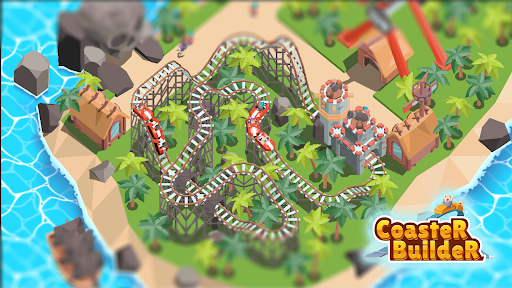 Coaster Builder: Roller Coaster 3D Puzzle Game apkdebit screenshots 14