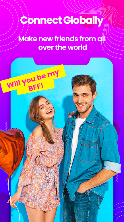 Sweet Date - Random Chat, Meet-Me Live Chat Tickoo  poster 12